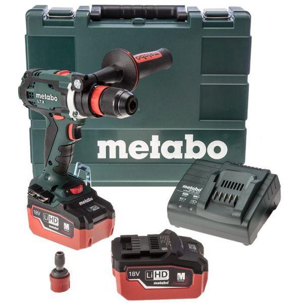 Аккумуляторный шуруповерт Metabo